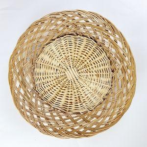 《Vintage》Large Boho woven basket